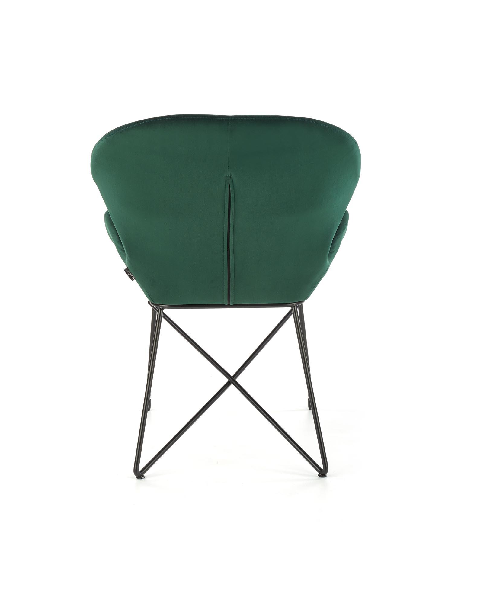 K458 krzesło, kolor: ciemny zielony