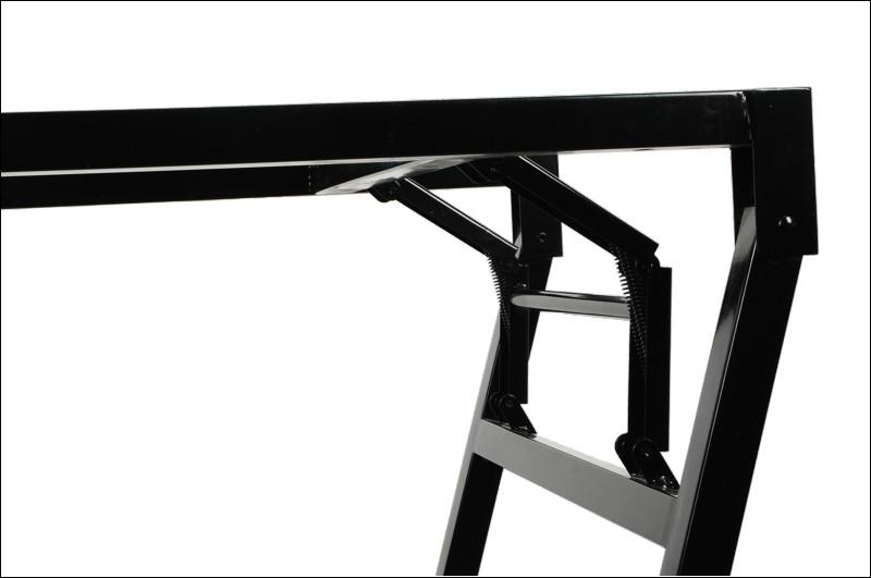 Stelaż składany do stołu i biurka EF-24/A-P - aluminium - 136x66 cm