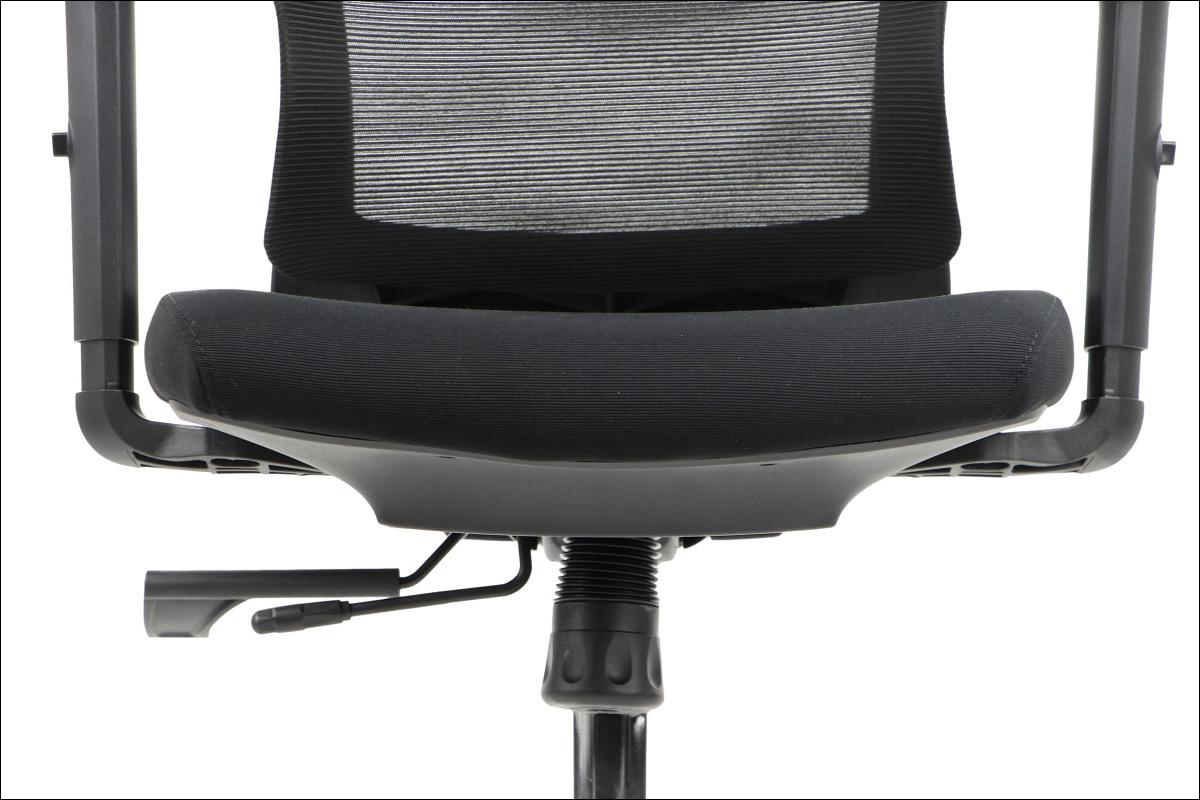 Fotel obrotowy TRENT czarny