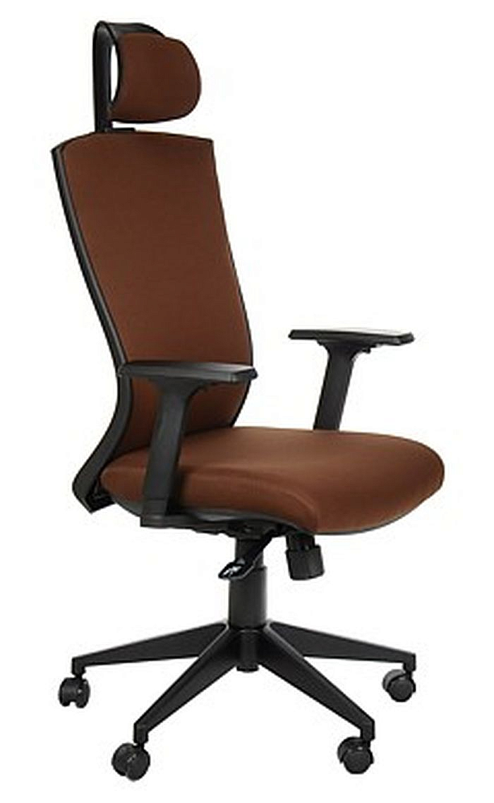 Fotel Biurowy Obrotowy EF-HG0004F brąz