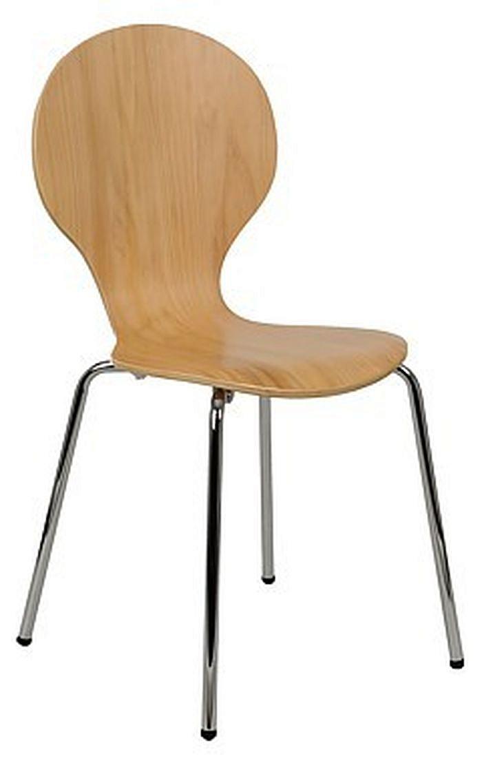 Krzesło konferencyjne EF-TDC122 buk