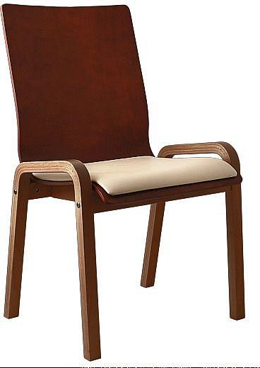 Krzesło konferencyjne Vega Wood NS