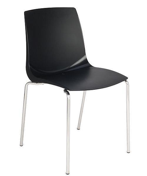 Krzesło konferencyjne ARI kubełek czarny