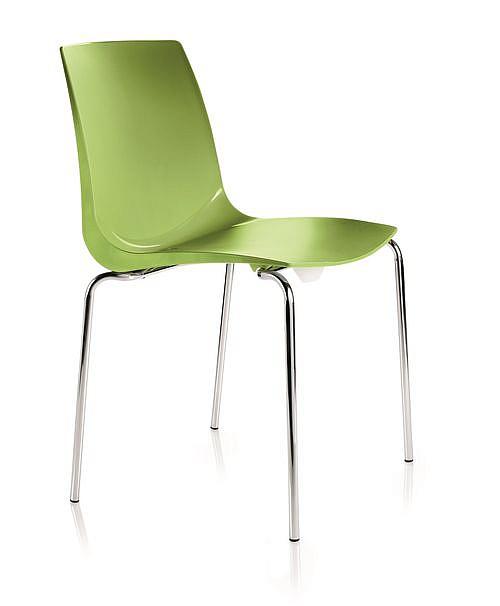 Krzesło konferencyjne ARI kubełek zielony