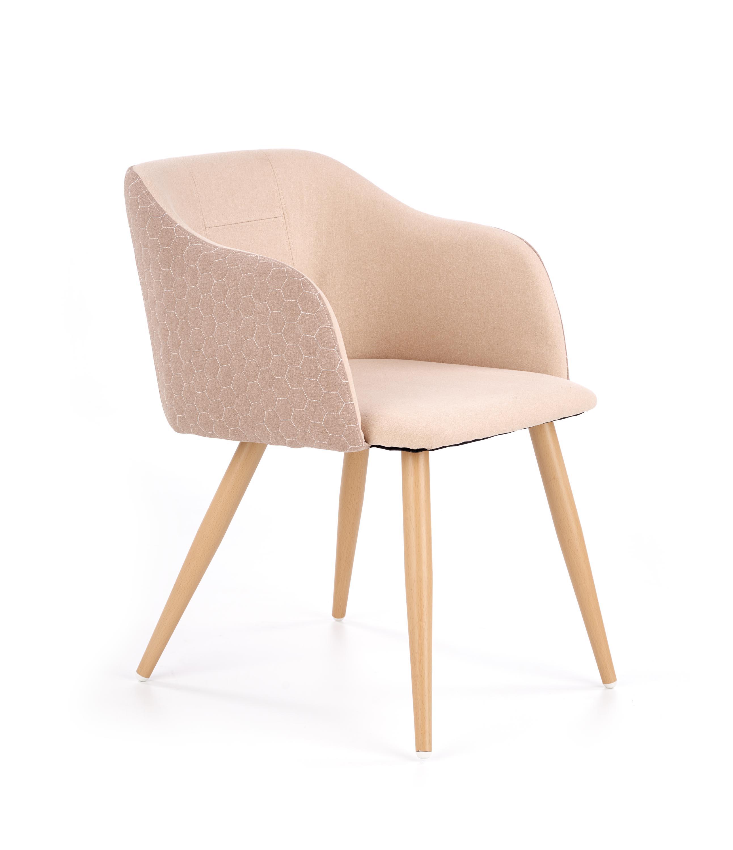 K288 krzesło jasny brąz / beżowy