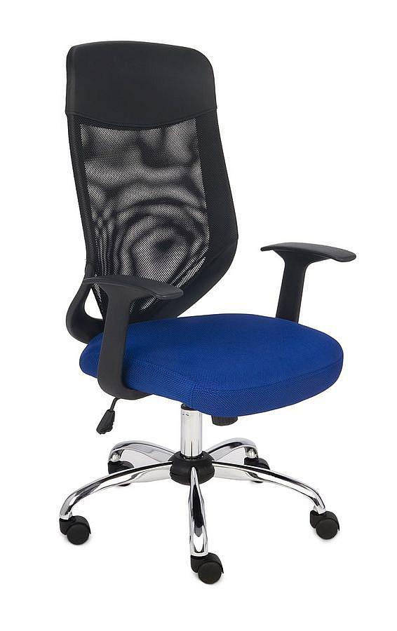 Krzesło obrotowe OPTIMAL niebieski