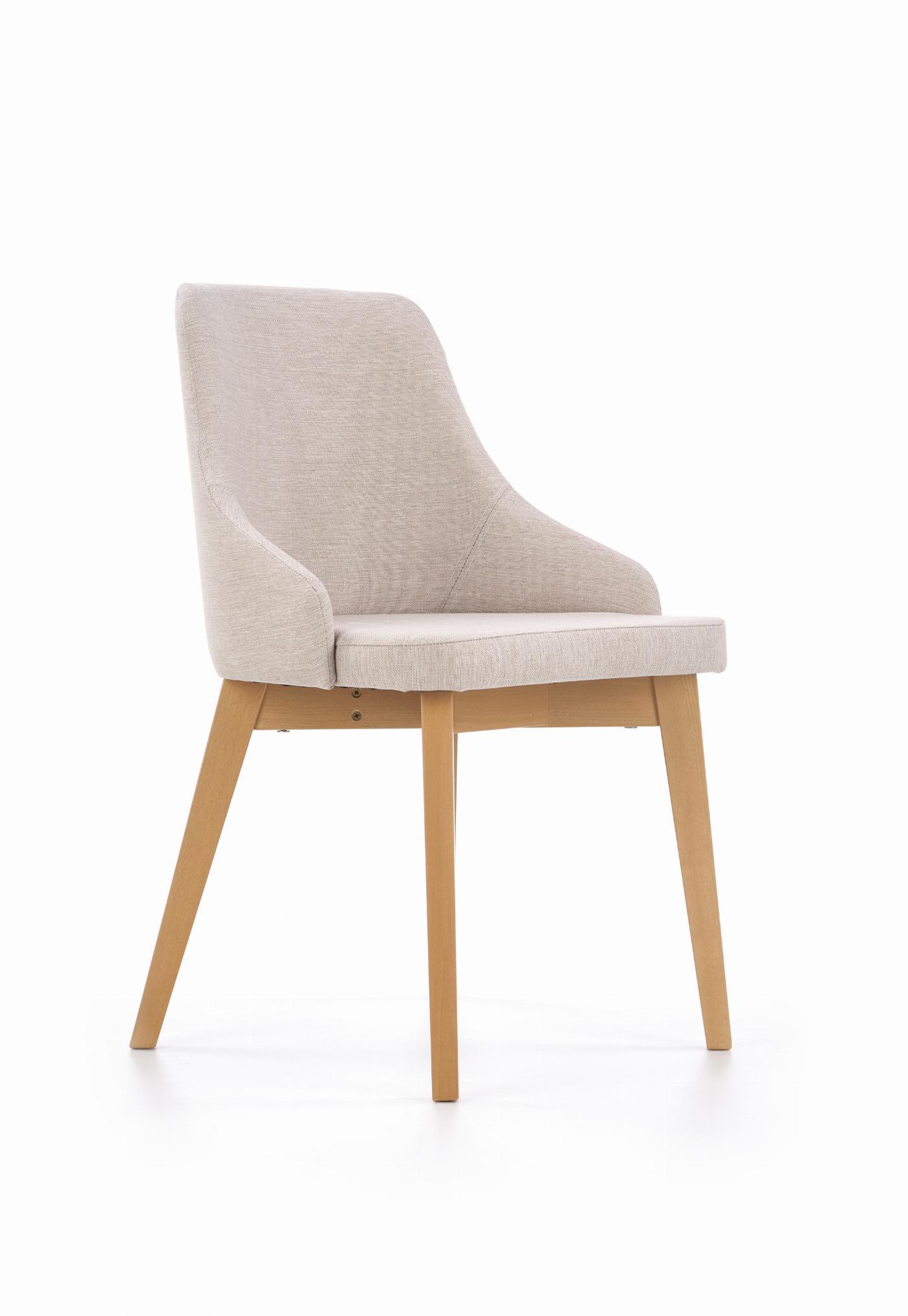 TOLEDO krzesło dąb miodowy / tap. Inari 22 (jasny beż) (1p=1szt)