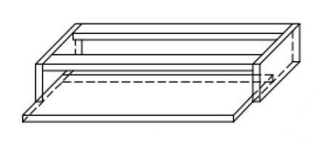 Półka pod klawiaturę PK1