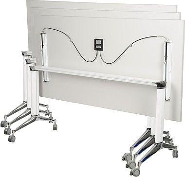Stelaż składany do stołu EF-A105 biały