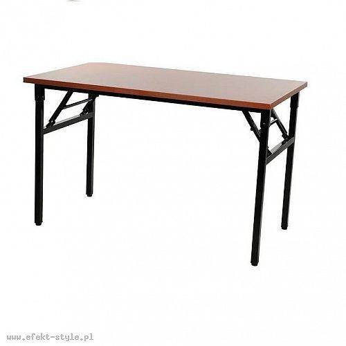 Stelaż składany do stołu i biurka EF-24C-P czarny - 116x56 cm