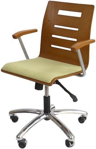 Krzesło konferencyjne Irys Obrotowy B Wood Lux NS