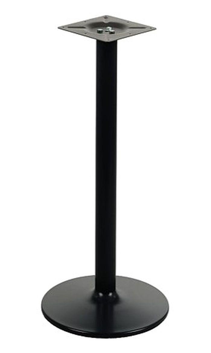 Podstawa do stolika EF-B006 czarna wysokość 110 cm fi 46 cm