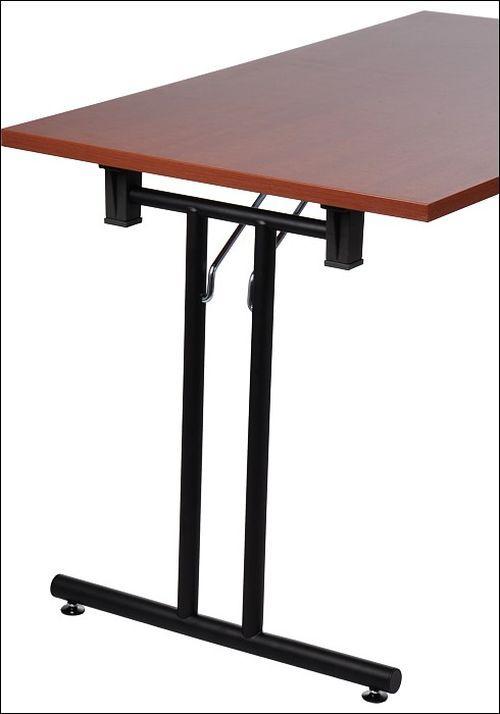 Stelaż składany do stołu EF-921/C czarny 48 cm