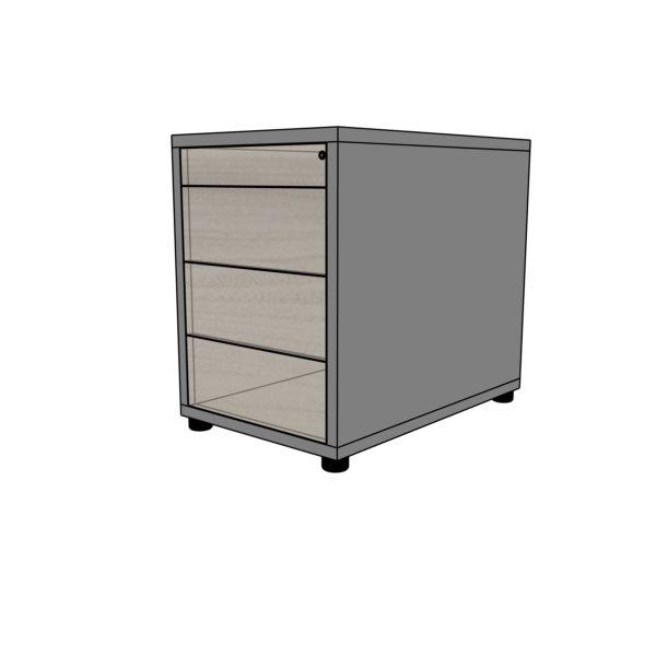 """Kontener  EVK 10-system """"push to open"""""""