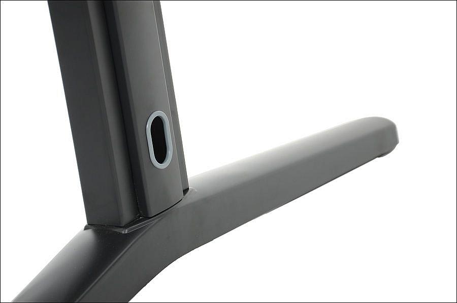 Stelaż metalowy do biurka EF-STL-01 czarny - rozsuwana belka