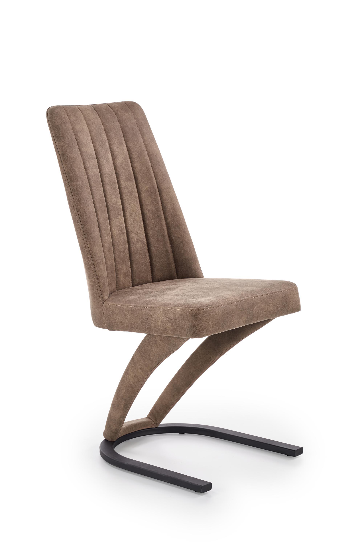 K338 krzesło brązowe