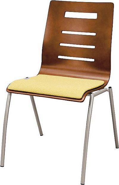 Krzesło konferencyjne Irys A Wood Lux NS