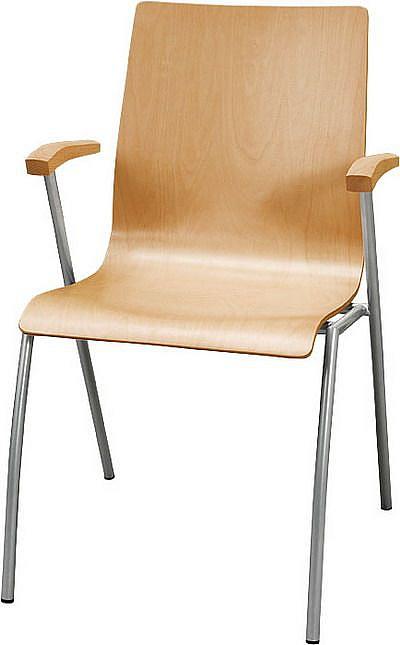 Krzesło konferencyjne Irys B Wood