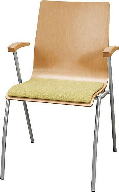 Krzesło konferencyjne Irys B Wood NS