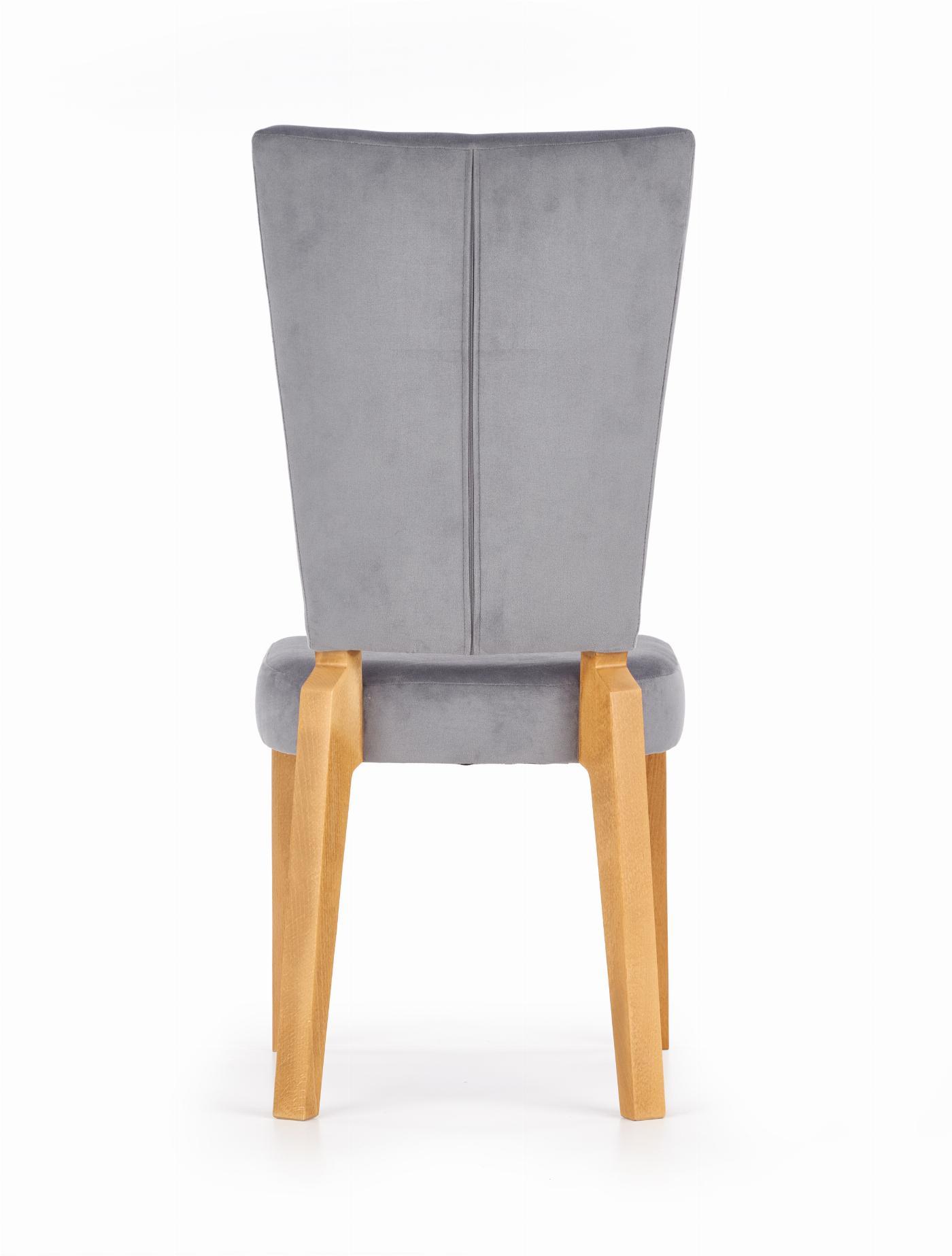 ROIS krzesło dąb miodowy / popielaty (1p=2szt)