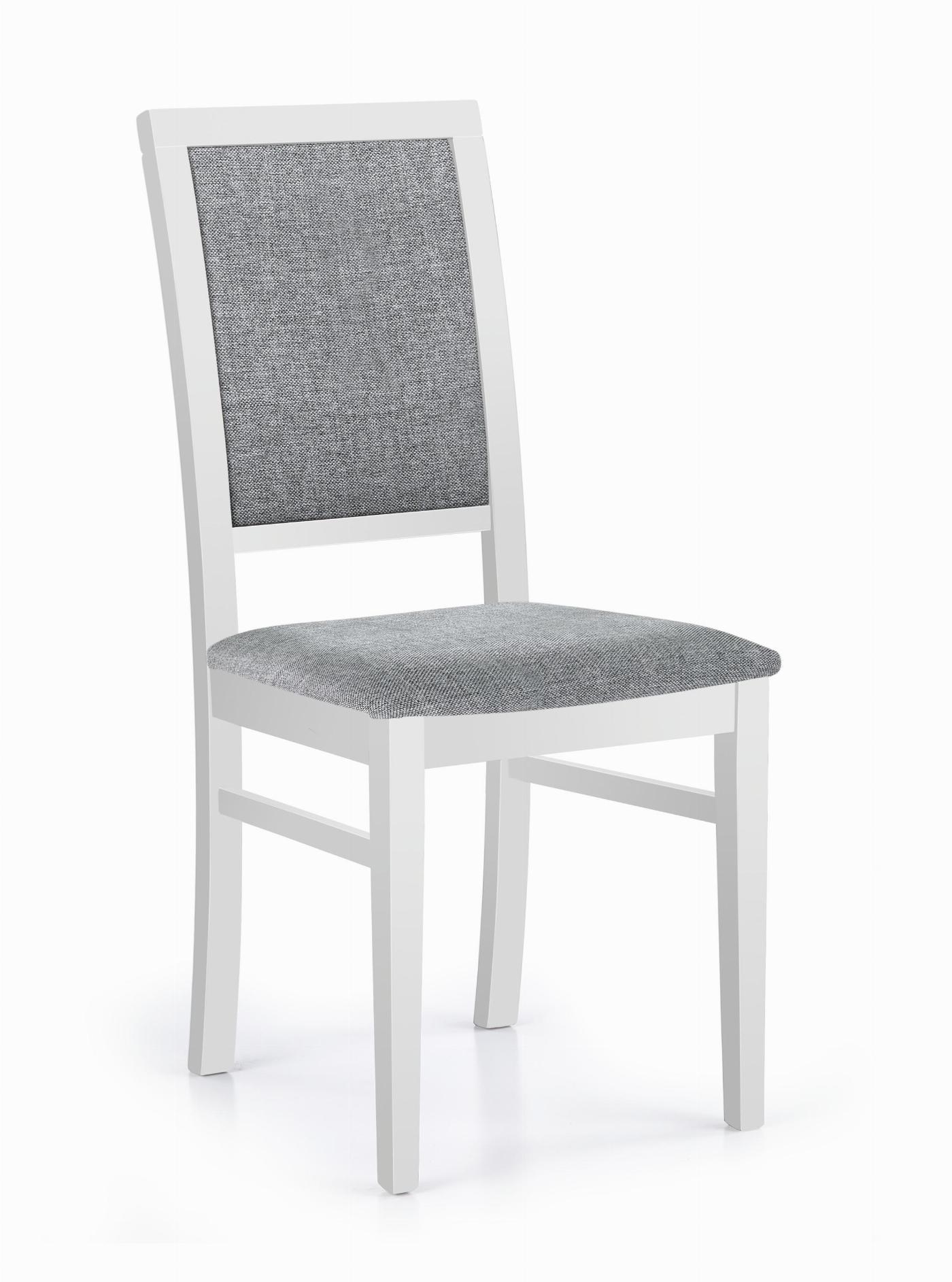 SYLWEK1 krzesło biały / tap: Inari 91 (1p=2szt)