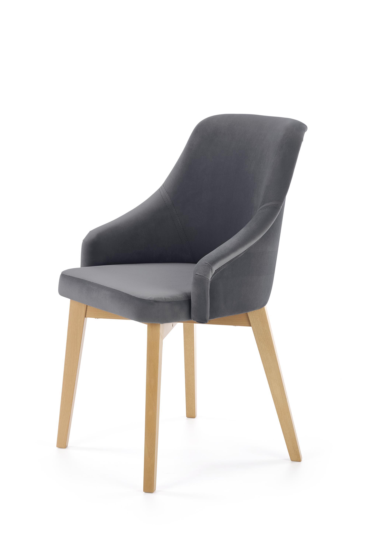 TOLEDO 2 krzesło dąb miodowy / tap. Solo 267 (1p=1szt)