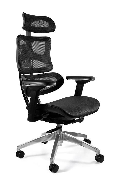 Fotel Obrotowy Ergotech czarny/chrom